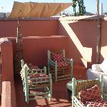la terrasse au deuxième