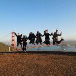 Saltando sobre el Golden Gate