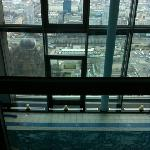 pool area and view from the 43 floor