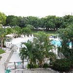 Condo Pool Area