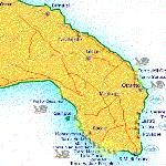 Mappa Salento