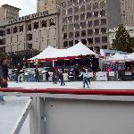 thanksgiving iceskating at union