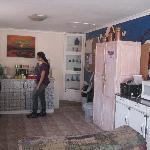 saloni, martha and the kitchen...