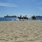 équitation plage Medano
