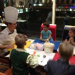 Cooking class for children