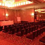 Ballroom set-up for meeting