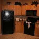 The kitchen. There is also a twin sink, dishwasher and laundry area, which are all out of the sh