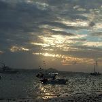 Sunset from Beach Villa