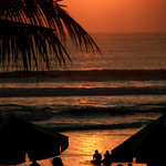 Legian Beach Hotel Sunset