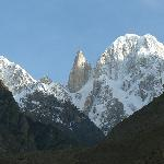 Lady Finger Peak on a Clear Day