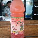 My fruity drink that had Guava in it.