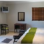 2 double beds, self catering amenities with bath and shower