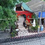 great little bar/restaurant across the street (Dacy's Garden)