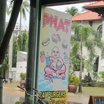 jucy burgers at Phat