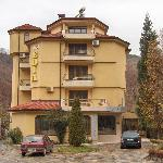 the hotel building