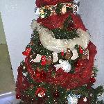 Christmas tree at the Inn :)