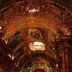 Beautiful ceiling inside church