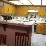Kitchen in Family Suite
