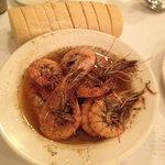 The famous shrimp dish.