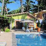 The pool at the Hacienda