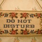 Embroidered Door hanger