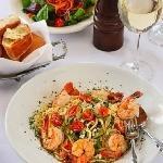 fresh shrimp & pasta done right...
