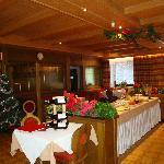 Steinerhof  sala da pranzo