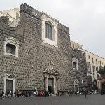 La facciata della Chiesa del Gesù Nuovo