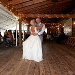 The wedding tent:)