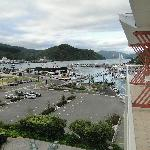 View from the room to Picton Harbour