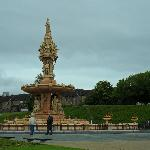 Victoria Fountain - Glasgow Green - World`s biggest terracotta fountain