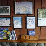 Nearby ski area trail maps