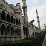 Suleymaniye mosque or blue mosque