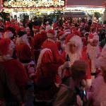 fremont was loaded with santa's one night