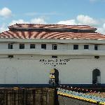 Esclusas de Miraflore en el Oceano Pacifico