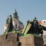 Jan Hus Monument Photo