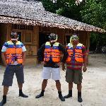 Snorkelling team