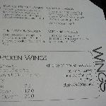 MENU Appitizers & Wings