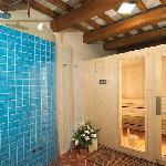 Sauna e angolo relax al Rivellino