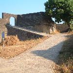 Rampants inside fort