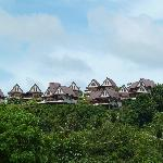 Baan kan Tiang see villas, photo taken from the beach