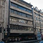 The massive Waterstones building