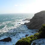 Der Weg an der Küste