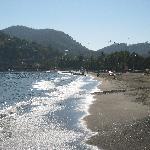 Nice beaches surround Zihua Bay