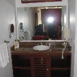 vanity in room