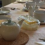 Ragstones Cornish Bed & Breakfast - Breakfast Table