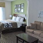 Our spacious King Suite