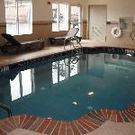 Indoor Heated Pool Open Daily from 6am to 10pm