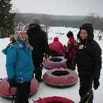 the kids tubing