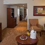 Our Suites Have A Seperate Living Room Area